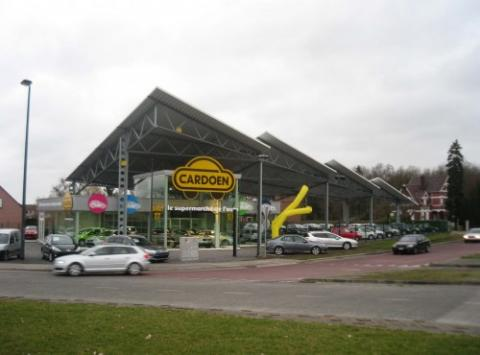 Salle d'exposition Cardoen Tournai